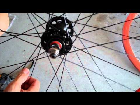 Installing A Fixie Rear Sprocket Fixie Fixed Gear Gears
