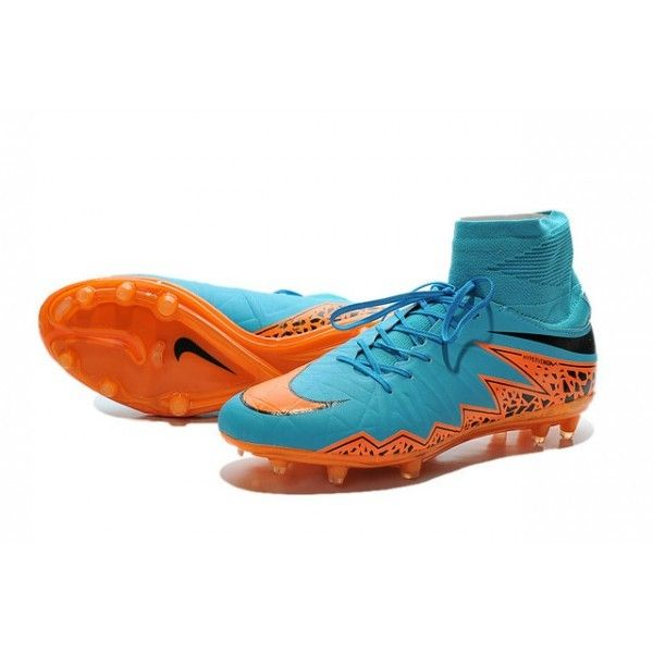 best website 2b488 00d41 New Shoes Nike HyperVenom Phantom II FG Football Cleats Blue Orange Black