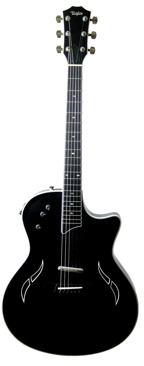 Taylor T5 Standard Hollowbody Electric-Acoustic Hybrid Guitar | Black | T5 Acoustic and Guitars