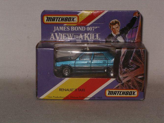 James Bond Matchbox Rolls Royce From A View To A Kill Description