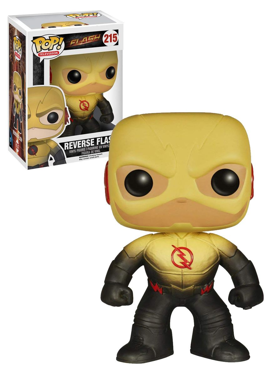Funko Reverse Flash #215 Pop TV Series The Flash Action Vinyl Figure