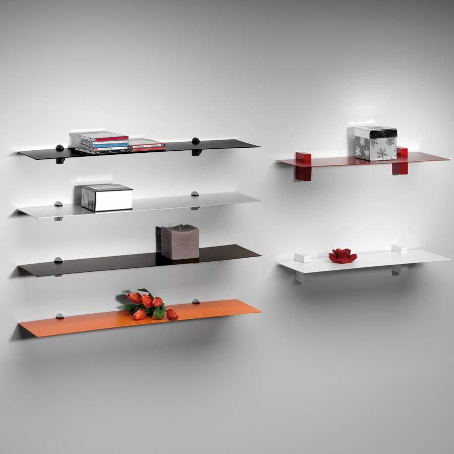 Lamina Shelf In Steel A Very Thin Sheet Of Metal Suspended On A Wall Shelves Metal Wall Shelves Sheet Metal Fabrication