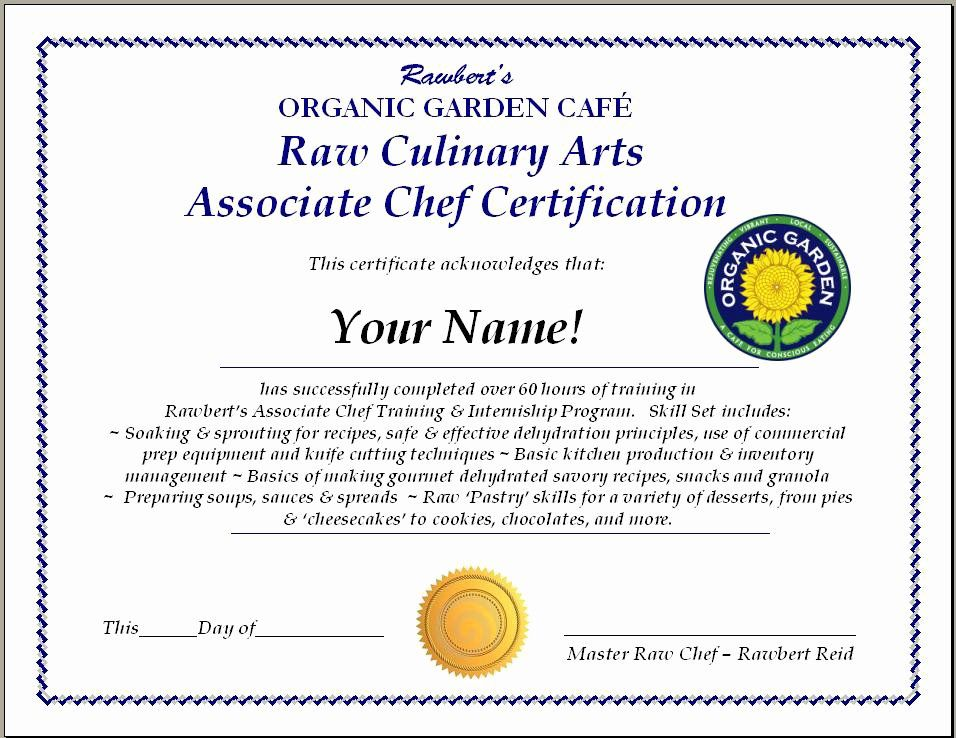 Pampered Chef Gift Certificate Template Inspirational 26 Of Chef Certificate Template Chef Gifts Gift Certificate Template Certificate Template