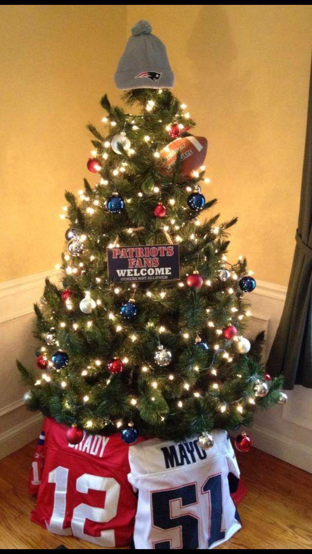 New England Patriots Christmas Tree (decorations) - New England Patriots Christmas Tree (decorations) For My Future