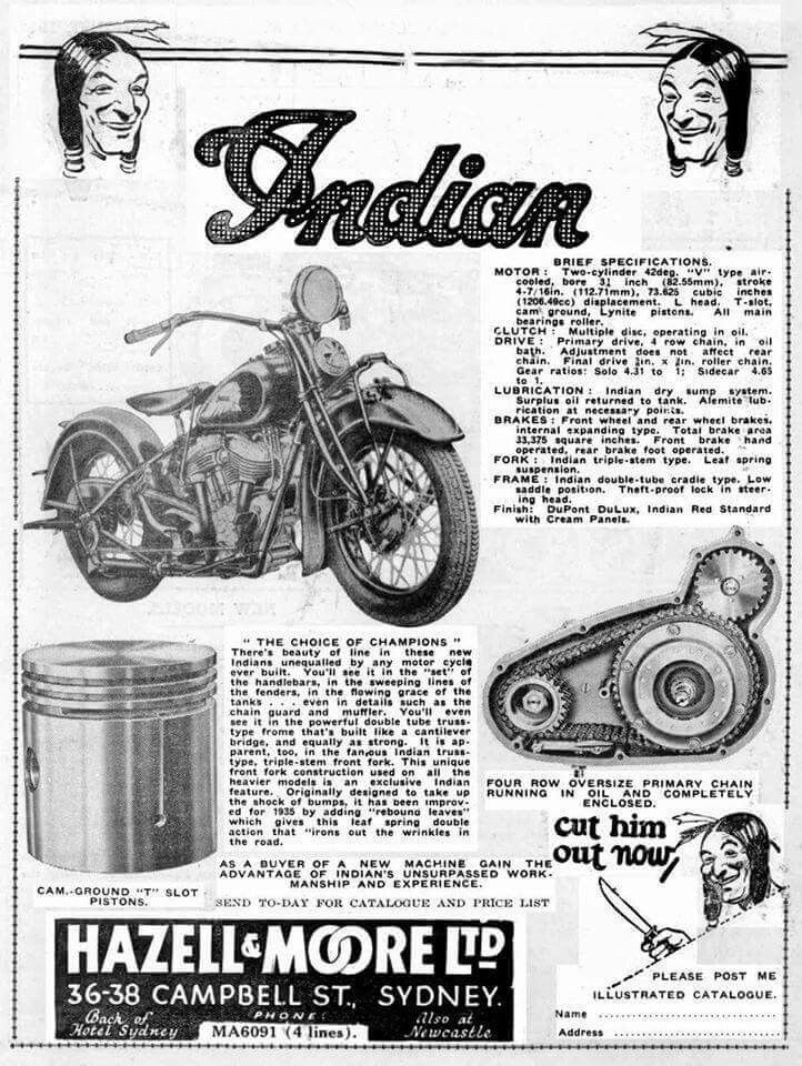 Indian Motorcycles, Trikes and Sidecars. Rentals, Sales and Builds ...