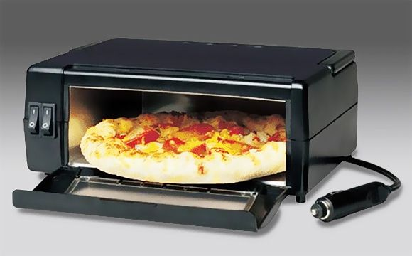 7 Ridiculous Food Gadgets You Can Take On A Road Trip Portable Pizza Ovenportable Microwavepizza