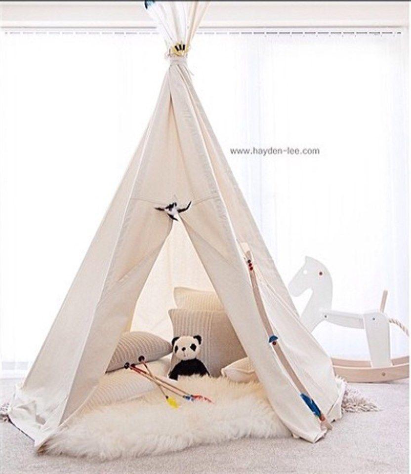 BIG teepee play tent voor kinderen NO POLES - foto 1  sc 1 st  Pinterest & BIG teepee play tent voor kinderen NO POLES - foto 1 | Huisje ...