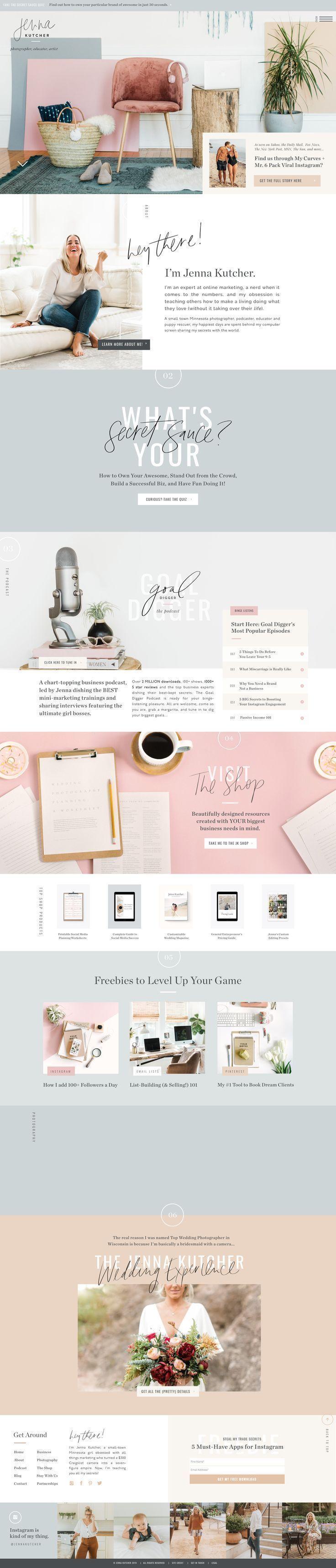 Marketing Entrepreneur Photographer In 2020 Website Layout Inspiration Web Layout Design Web Design Tips