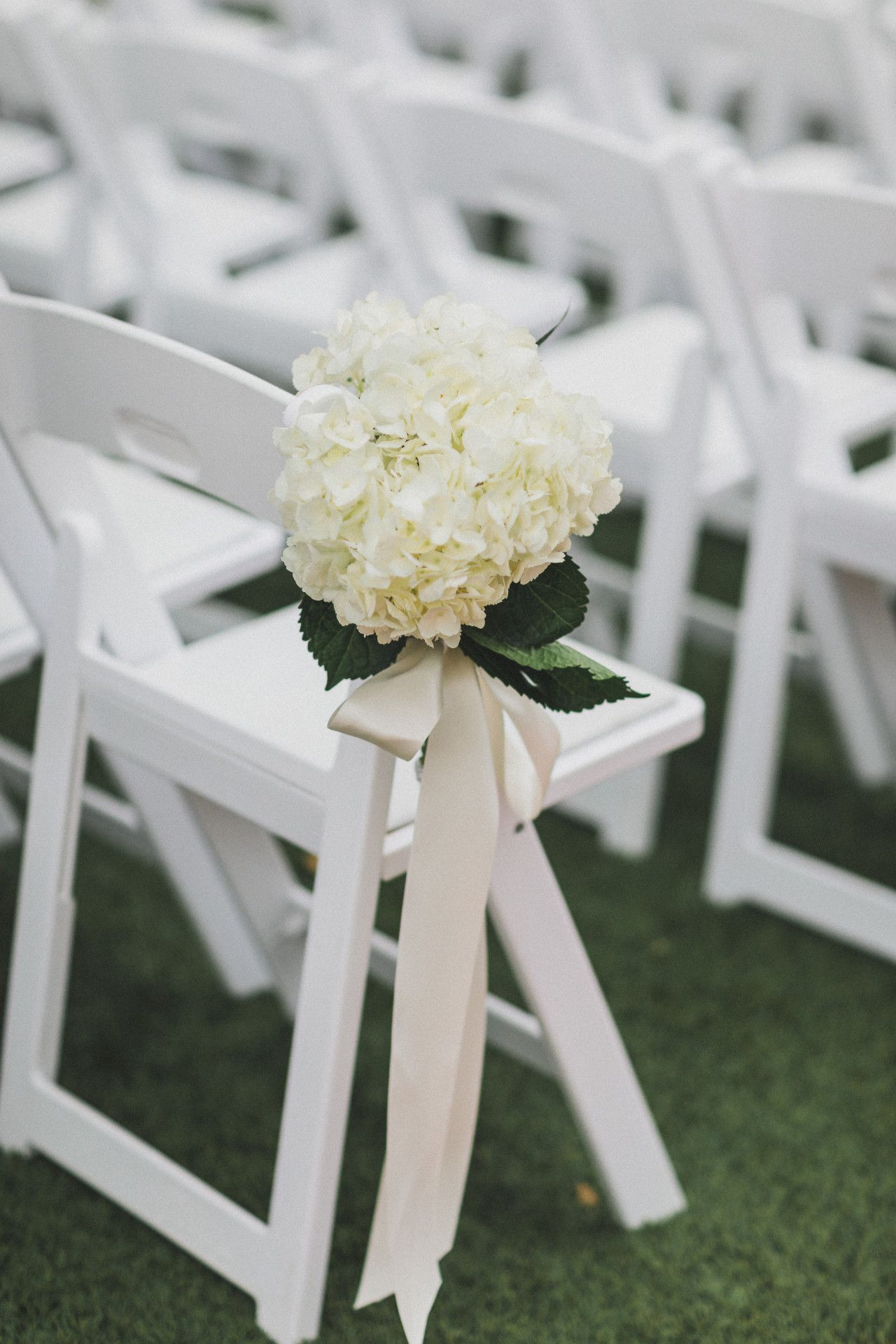 Wedding decorations white  white floral aisle marker  white wedding ceremony aisle marker