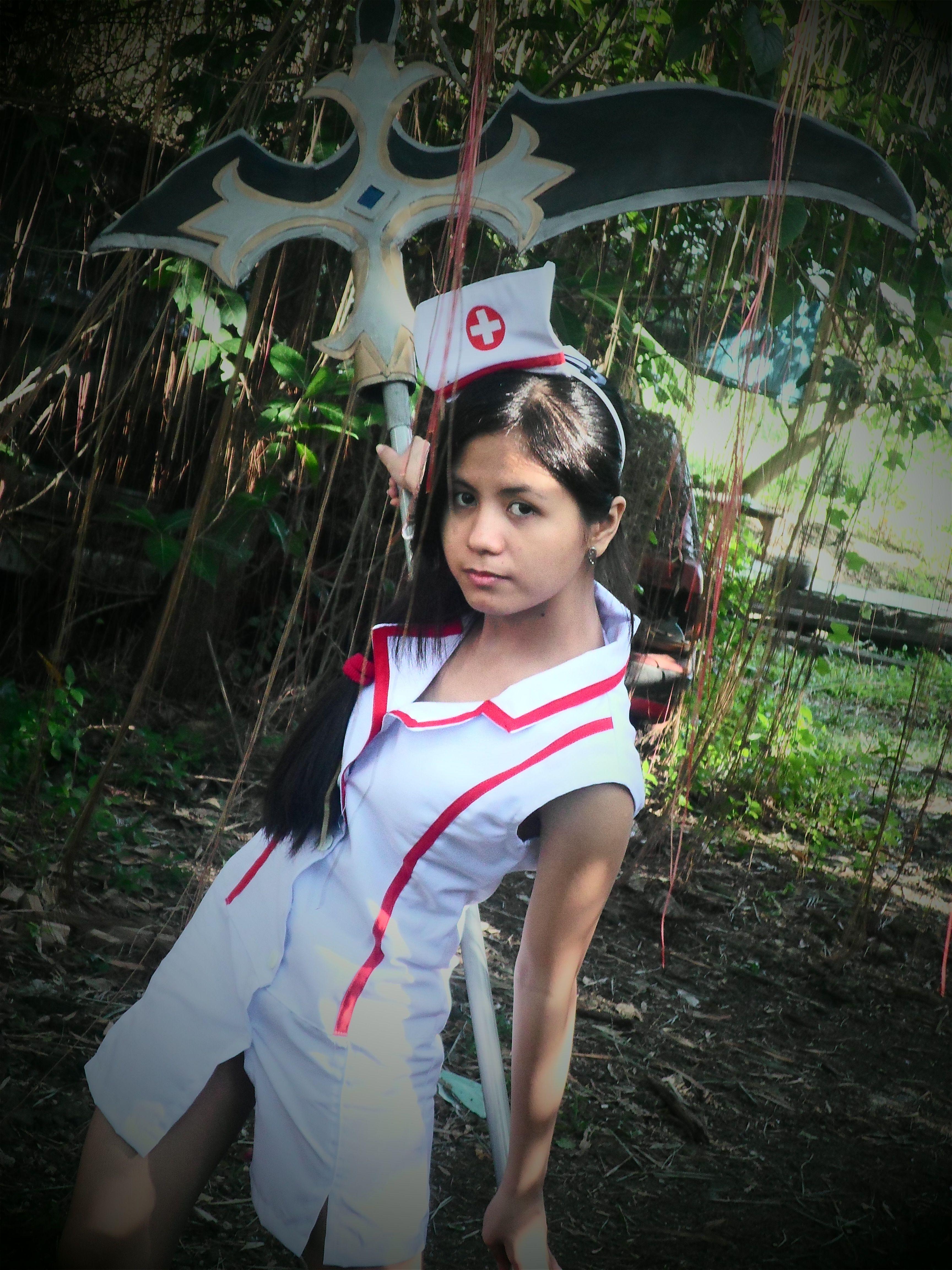 Nurse Akali (LoL) - Efwen@AnimagiC 2014 by
