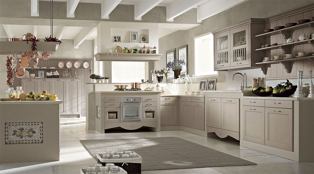 Awesome Cucina Stile Country Chic Gallery - bakeroffroad.us ...