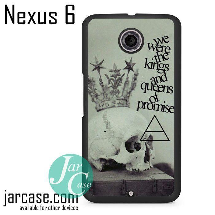 30 Seconds To Mars Lyrics 2 Phone case for Nexus 4/5/6
