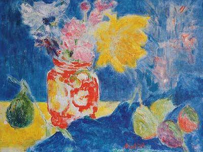 Yvonne mottet mottet yvonne 1906 1968 pouse du peintre for Bernard peintre