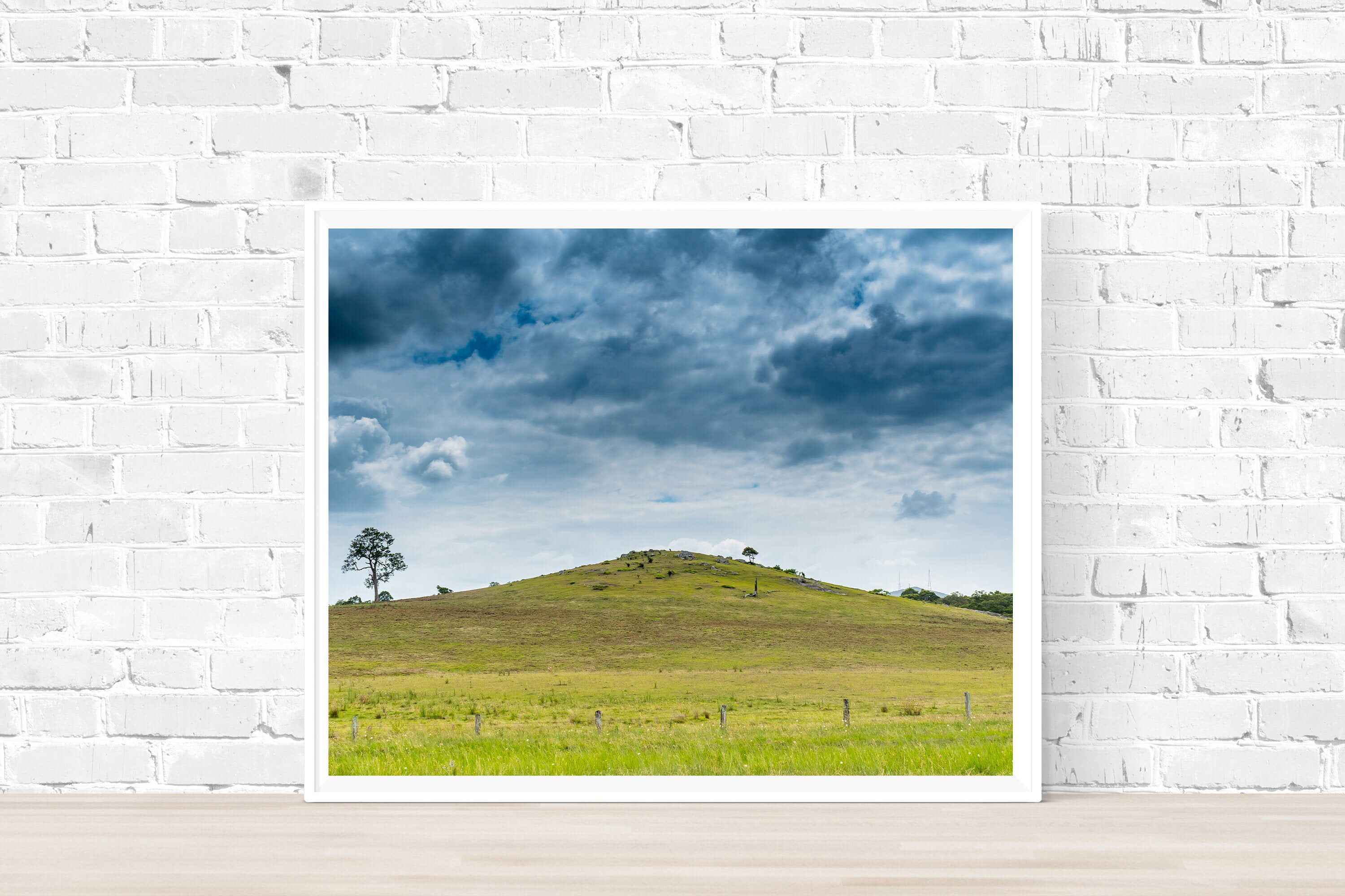 Storm Over Hill Digital Print Australian Landscape Photography Rural Country Hunter Valley Farm Nature Print High Resolution 5 Jpgs Nature Prints Landscape Photography Wildlife Prints