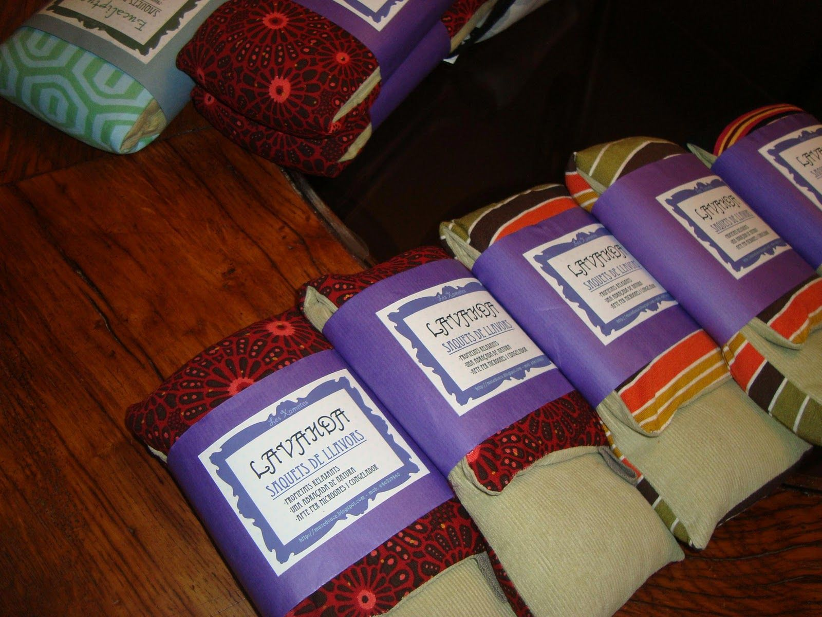 sacos de semillas terapeuticos