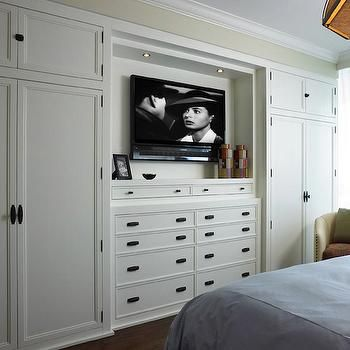 Built In Cabinets Transitional Bedroom Cindy Ray Interiors Prepossessing Bedroom Wall Cabinet Design 2018