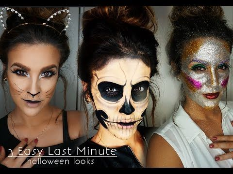 This cat makeup is everything Halloween 2015? cool costume ideas - last minute costume ideas halloween