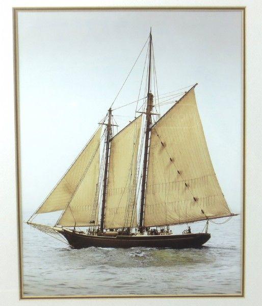 shopgoodwill.com - #38429585 - Pair Of Sail Boat Framed Prints - 4/4 ...