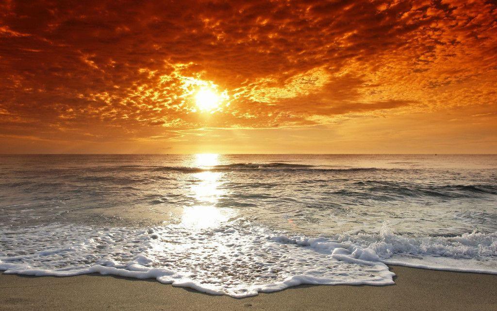 2019 - paysage artistique. Fonds D Ecran Paysage De Reve Maximumwallhd Beautiful Sunset Beach Landscape Scenery
