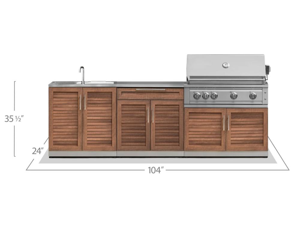 Outdoor Kitchen Stainless Steel 3 Piece Cabinet Set Outdoor Kitchen Sink Outdoor Kitchen Stainless Steel Doors