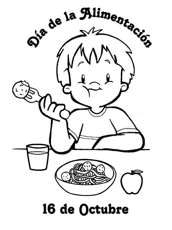 Actividades la para dia de ninos alimentacion