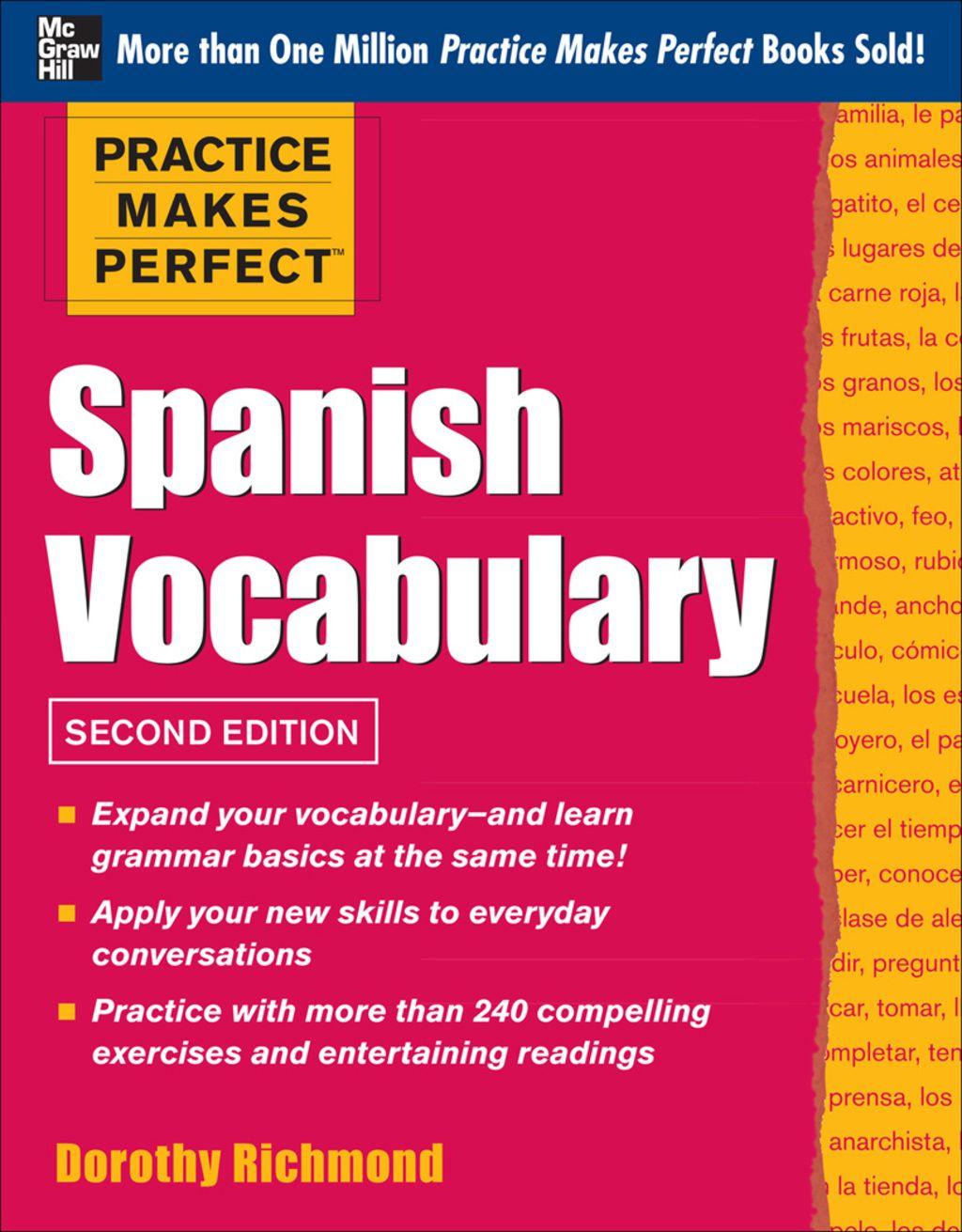 Practice Makes Perfect Spanish Vocabulary Ebook