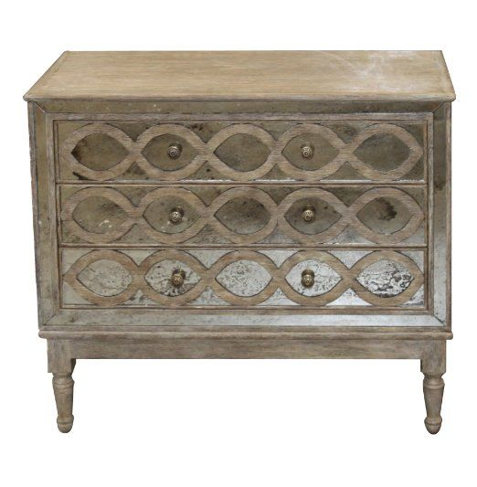 Amazon Com Ogee French Country Distressed Antique Mirror Dresser