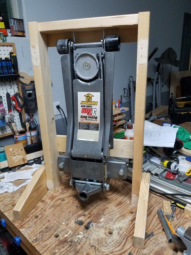 Jack Stand Storage : stand, storage, Floor, Stand, Garage, Storage,, Storage, Organization