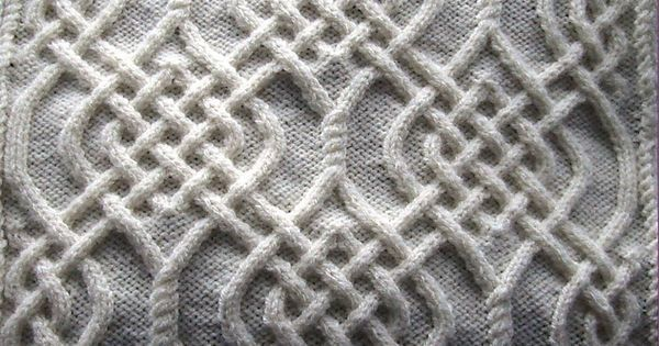 Celtic Knot Knitting Patterns Free Crafts Pinterest Knitting