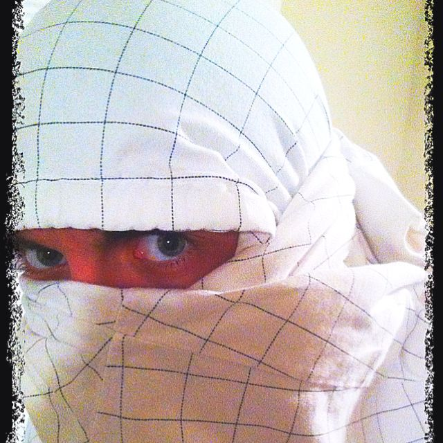 4 steps to turn a hoodie into a ninja mask step 1 place hoodie 4 steps to turn a hoodie into a ninja mask step 1 place hoodie ccuart Gallery