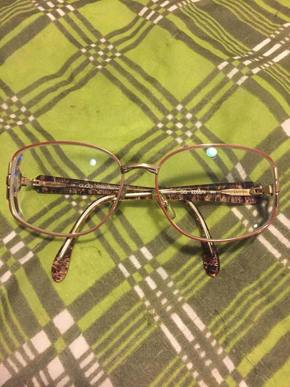 a8c4e4f82b7e Vintage Gucci Gold Tone Eyeglasses Frames Mod GG 2266/N | Timeless ...