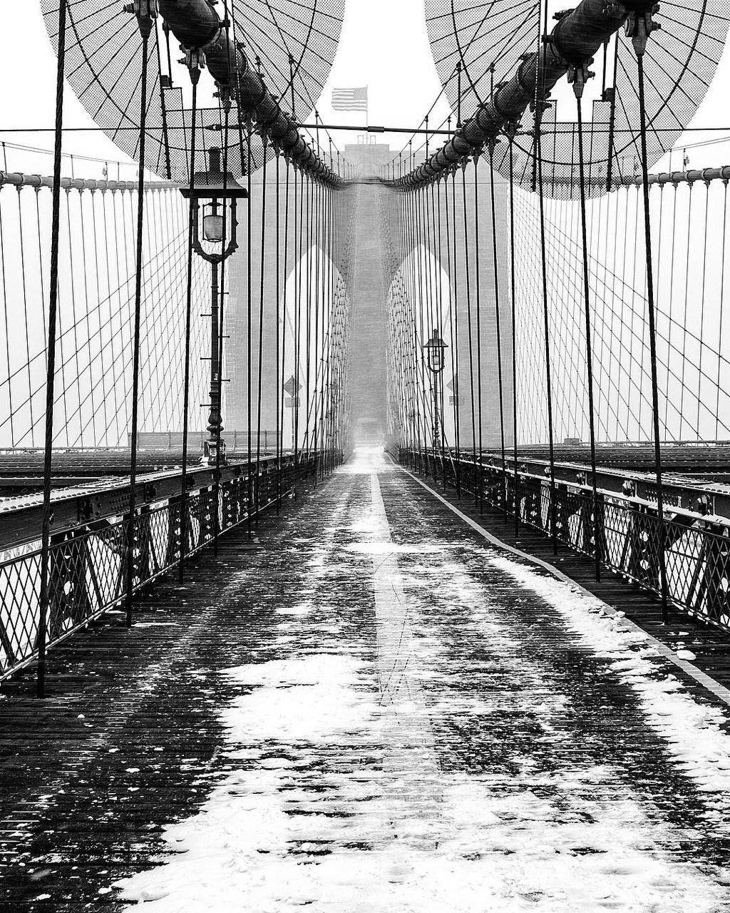 Brooklyn Staten Island Car: Brooklyn Bridge By @brucegetty