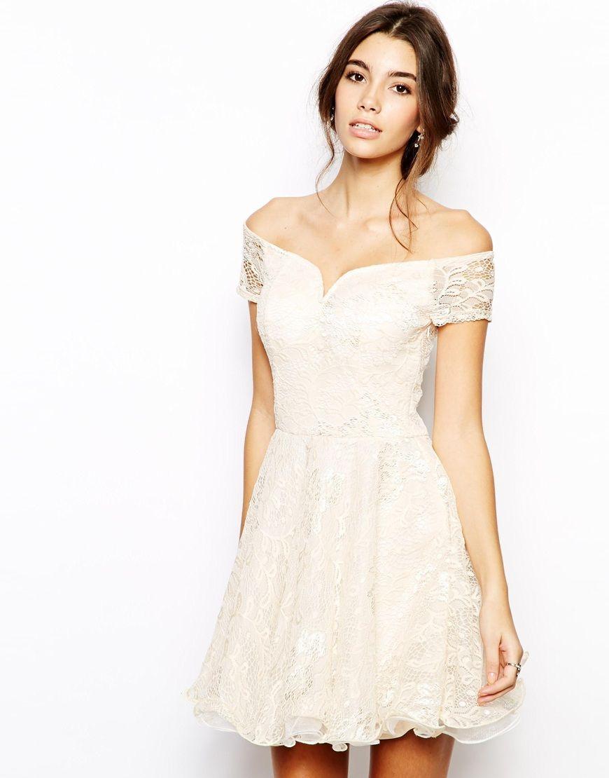 Chi chi london lace prom dress with bardot neck prom chi chi london lace prom dress with bardot neck ombrellifo Choice Image