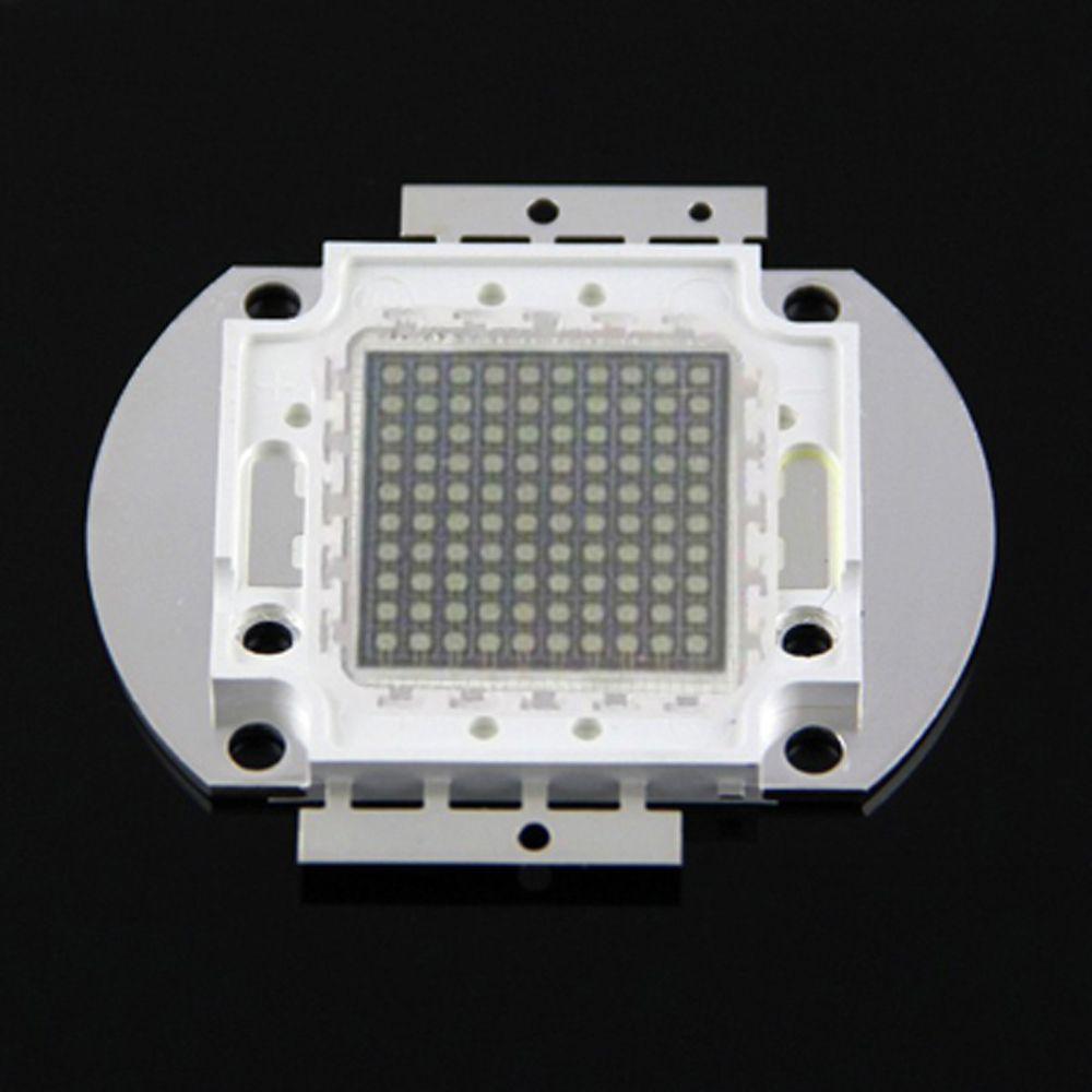 1pcs 100w 395 400nm Led Chip Uv 395nm 100w Chip Uv Led Chip For Fishing Light Uv Curing Light Accessories Fishing Lights Uv Led