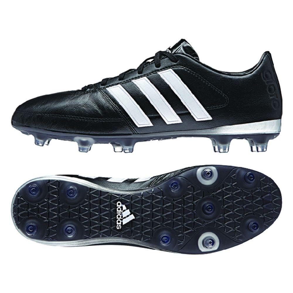 Gloro 16.1 FG Soccer Cleats (BlackWhiteMatte Silver