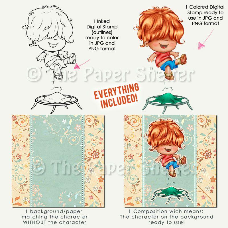 Happy Times - Mega Pack - Digital Stamps