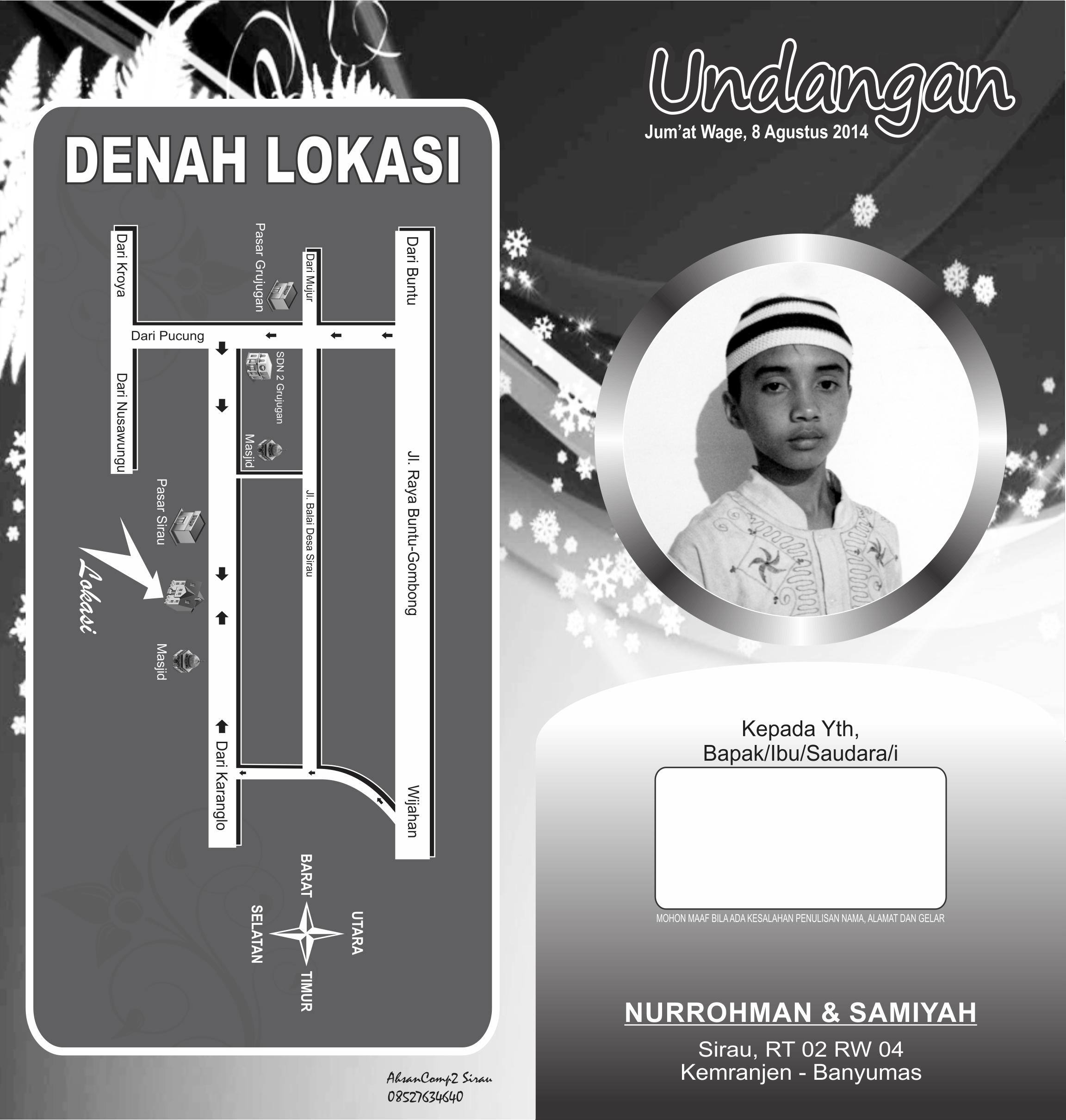 Desain Undangan Sunat Khitan Gratis Cdr Free Banner Design Cdr