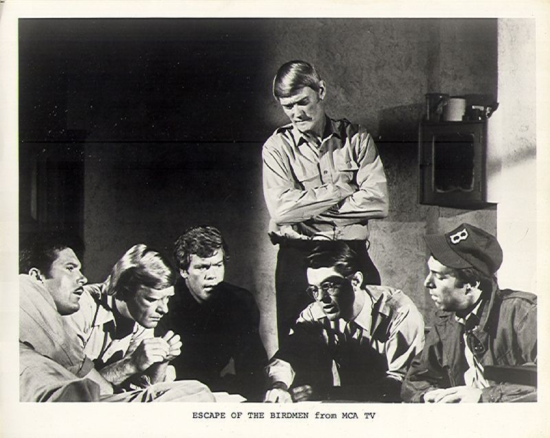 1971 T.V. STILL PHOTO *ESCAPE OF BIRDMAN* CHUCK CONNORS