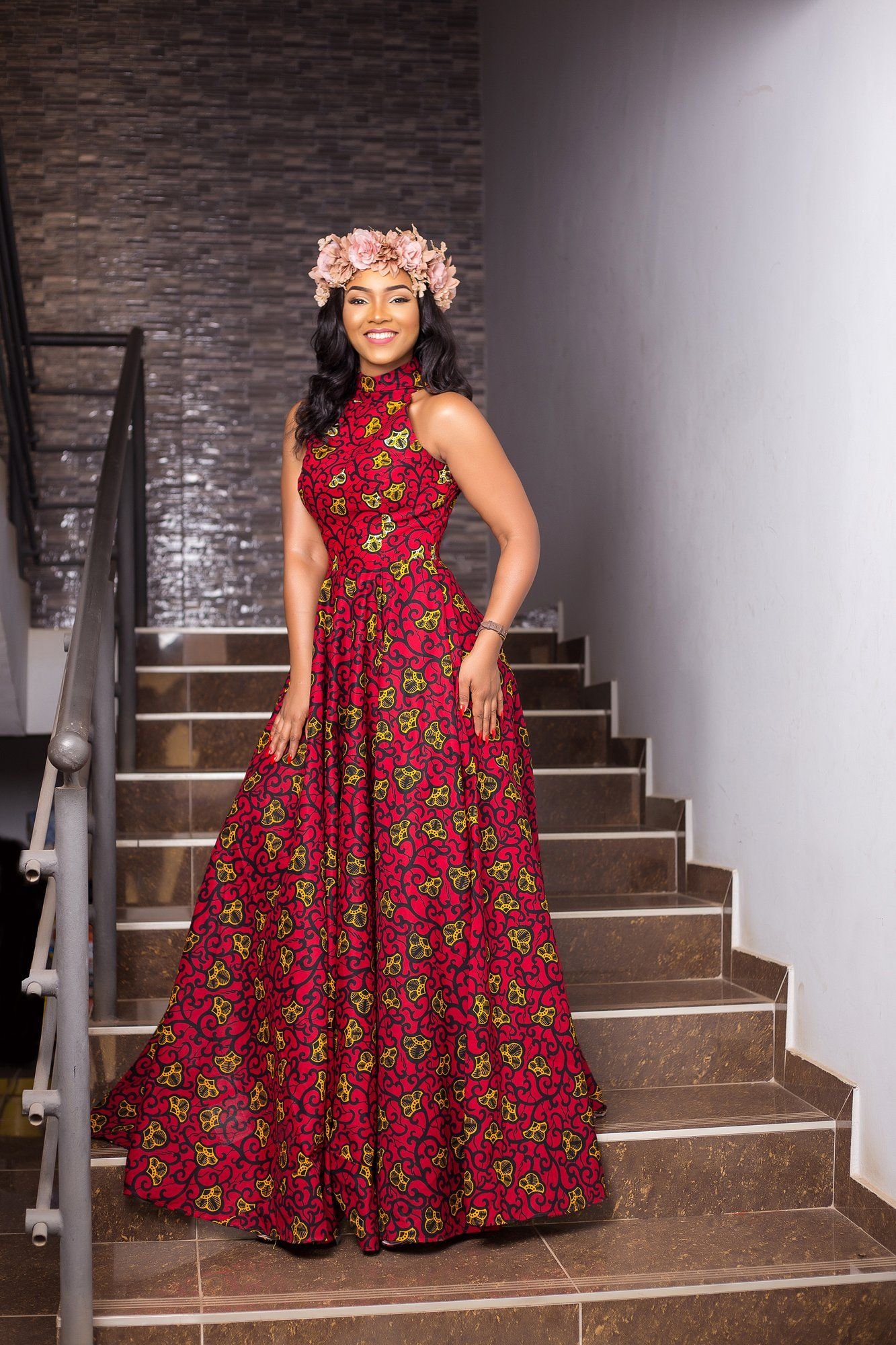 Kessie African Maxi Dress African Maxi Dresses African Dresses For Women African Attire