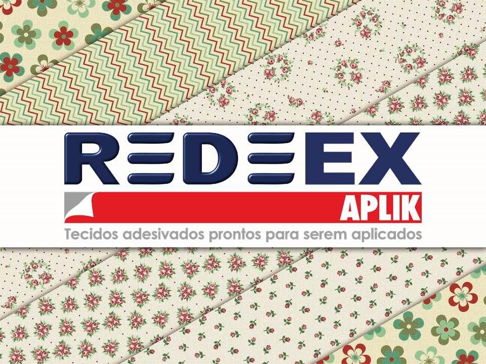 REDEEX Aplik Tecido Adesivado! Um lançamento da Fábrica de Tecidos São João Evangelista!