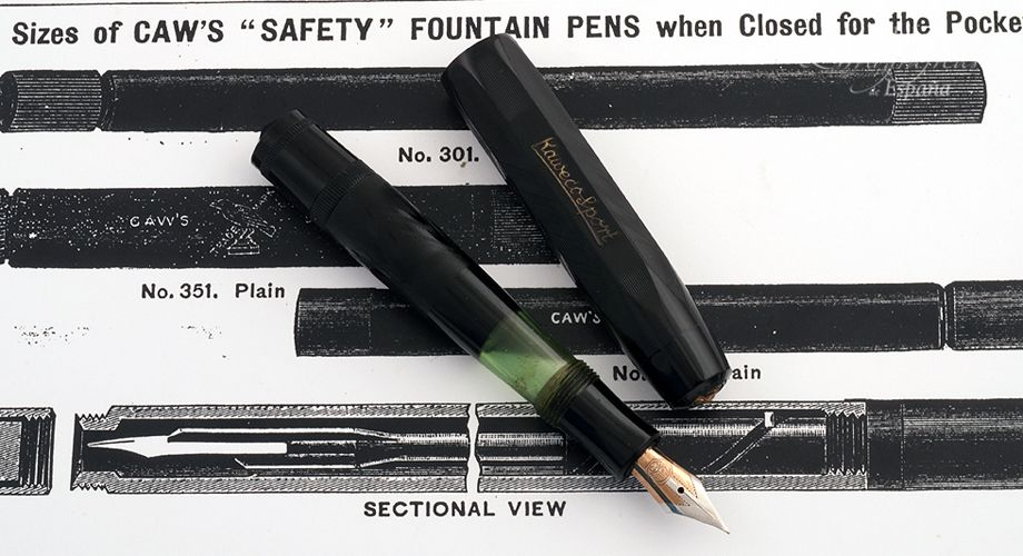 Kaweco Sport Black Celuloid c.1940 Fountain pen