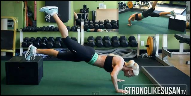 Fit Girly Crush: Strong Like Susan via www.myfitstation.com