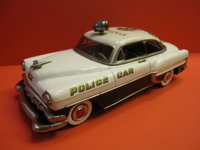 All Original Chevrolet Police Car Battery Operated Marusan Japan