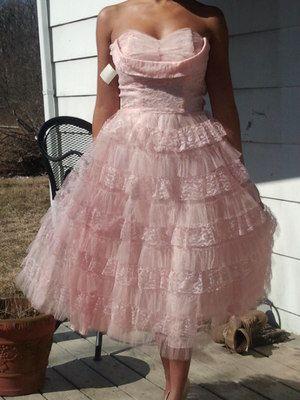 Lovely Vintage Dress Ebay!!! Looks like Hannah