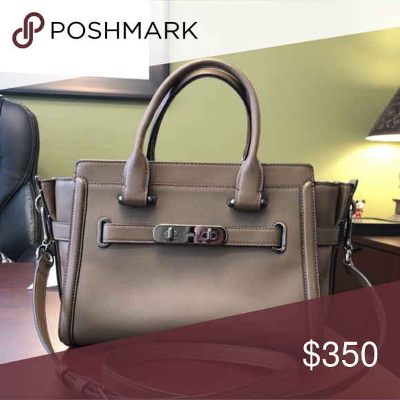 1d597239c5c Spotted while shopping on Poshmark  Coach Swagger Purse!  poshmark  fashion   shopping  style  Coach  Handbags