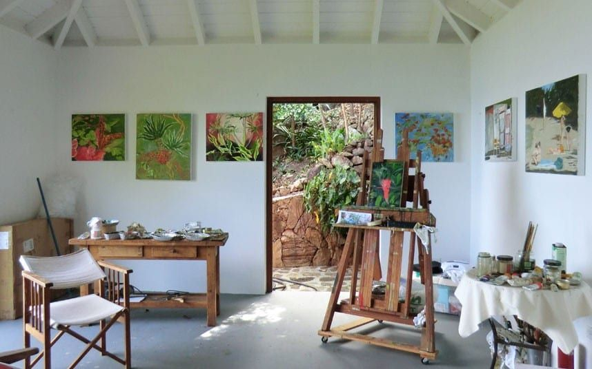 48b77a37b55 Creative Corners  Incredible and Inspiring Home Art Studios