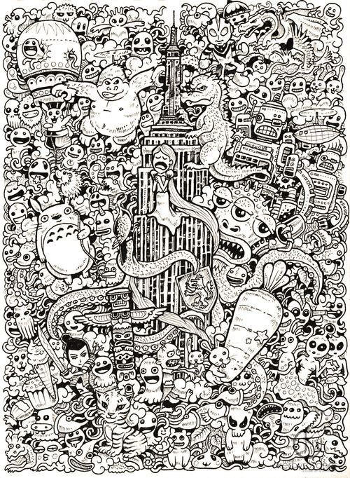The Amazing Kerby Rosanes Doodles