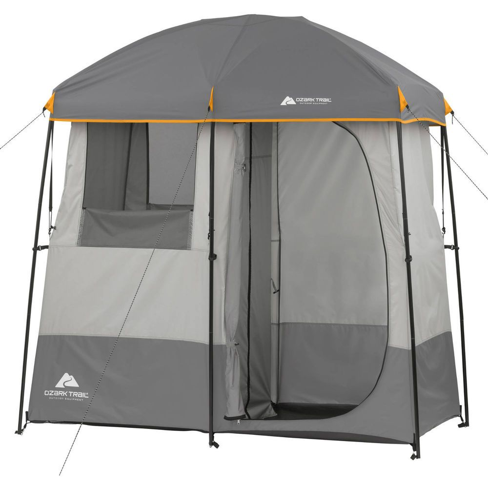 Shower Tent Changing Shelter Portable 2 Room Dressing Camping