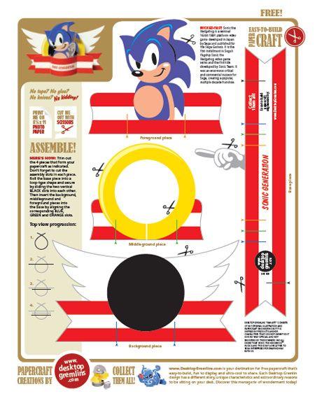 506 Sonic Pdf Sonic The Hedgehog Sonic Birthday Parties Sonic