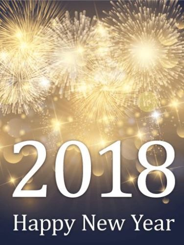 Good Happy New Year 2018 Wallpapers. Wish That Your Days Be Plated In Gold,  Encrusted With Diamonds, Sparkled With Silver Dust And Spent In Good  Companyu2026